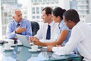 the owner of a CPA firm meeting with a government contracting organization about DFARS