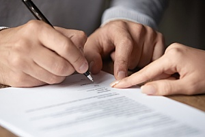 a CPA working with a government contractor during a government contract termination