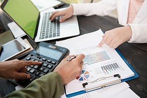a CPA performing business tax services for a client