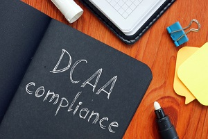 dcaa compliance Defense Contract Audit Agency is shown on the photo