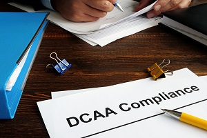defense contract audit agency DCAA compliant timekeeping and a working man